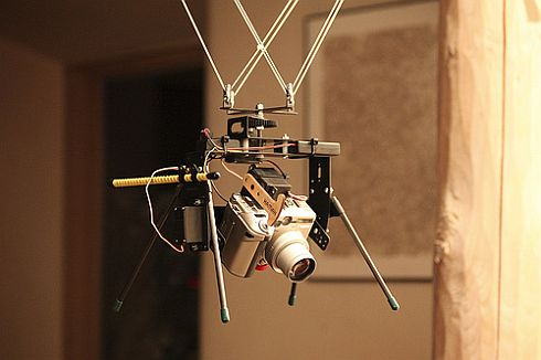 High-end KAP rig with a remotely-controlled camera.