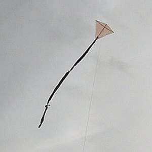 These kite plans include the very simple 1-Skewer Diamond.