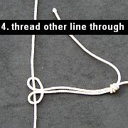 The Lark's Head Knot - 4