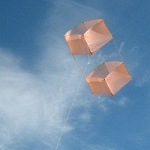 Making a box kite is a rewarding exercise.