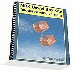 Kite e-book: MBK Dowel Box Kite (moderate wind)
