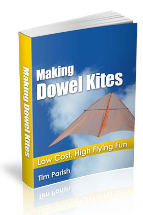 Click to buy the e-book Making Dowel Kites.