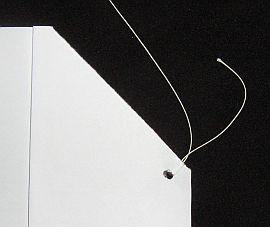 Making the Paper Sled kite - Step 4b