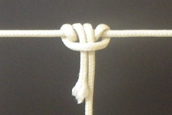The Prusik knot.