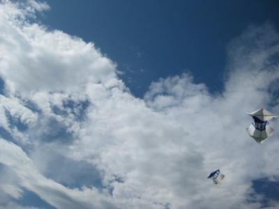 Nothing but blue skies.