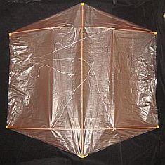 Rokkaku Kite Plans - dowel front