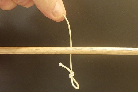 Knot Tying Instructions - The Slip Knot - 1