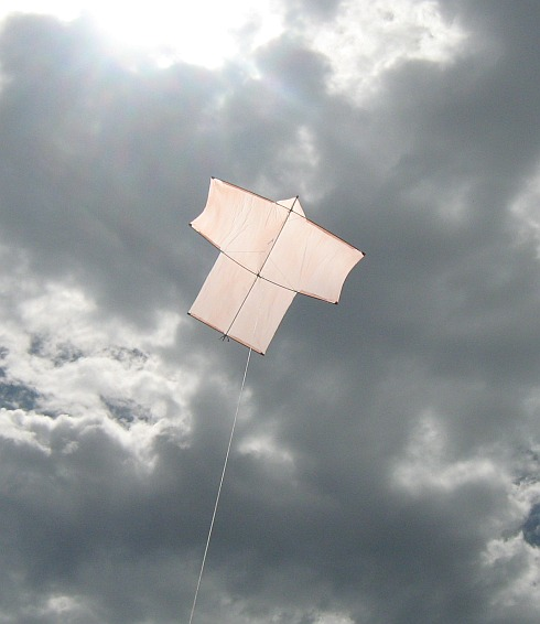 The MBK Dowel Sode in flight.