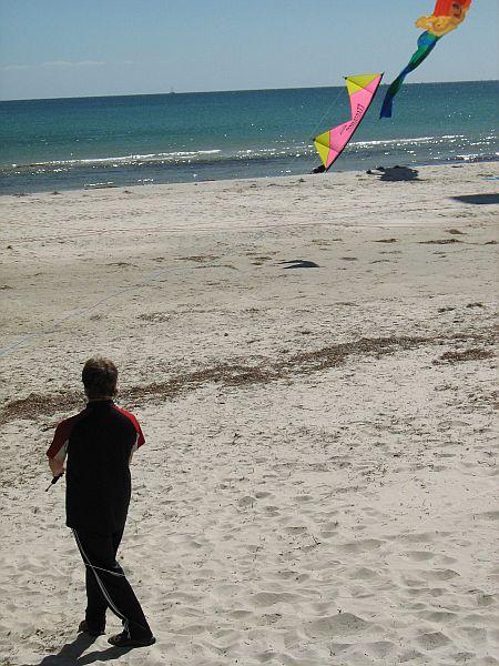 Stunt kites - quad kite flier
